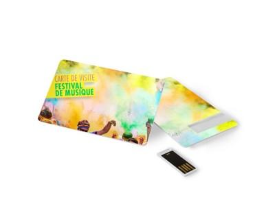 Le Format Carte De Crdit Est Idal Pour Semporter Partout Facile Glisser Dans Une Poche La Cl USB Plate Reprsente Un Excellent Cadeau Dentreprise