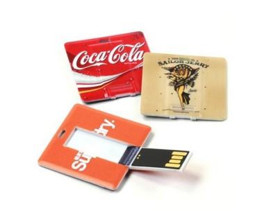 Clés USB carrées, personnalisables en 24/48 heures