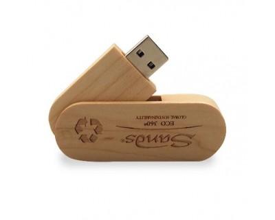 Clé USB twister bois - 8 à 10 jours